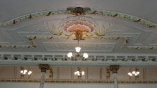 Wellington Opera House upstairs foyer ceiling